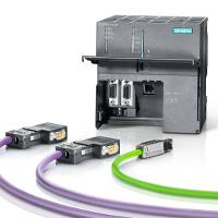 Siemens: CPU 319-3 PN/DP mit PROFINET- und PROFIBUS-Kabel