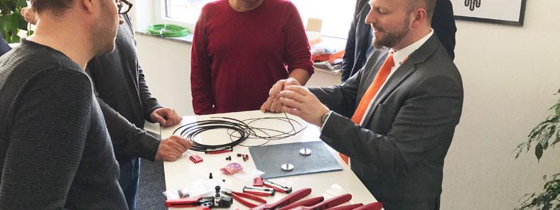 Kundenveranstaltung Lapp Kabel